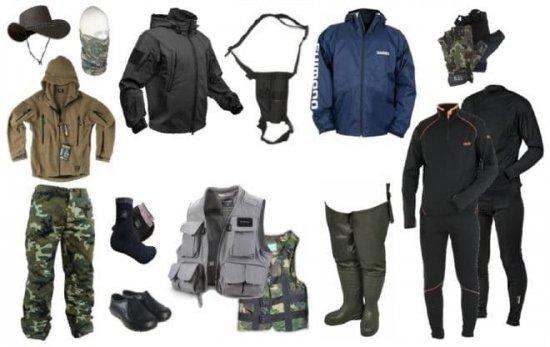 Одежда для рыбаков