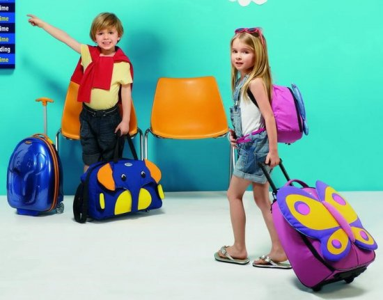 Сумки и чемоданы для мальчиков и девочек