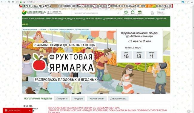 Интернет-магазин Агромаркет 24