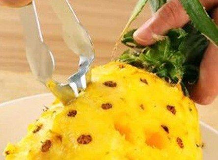 Щипцы, которые очищают ананас